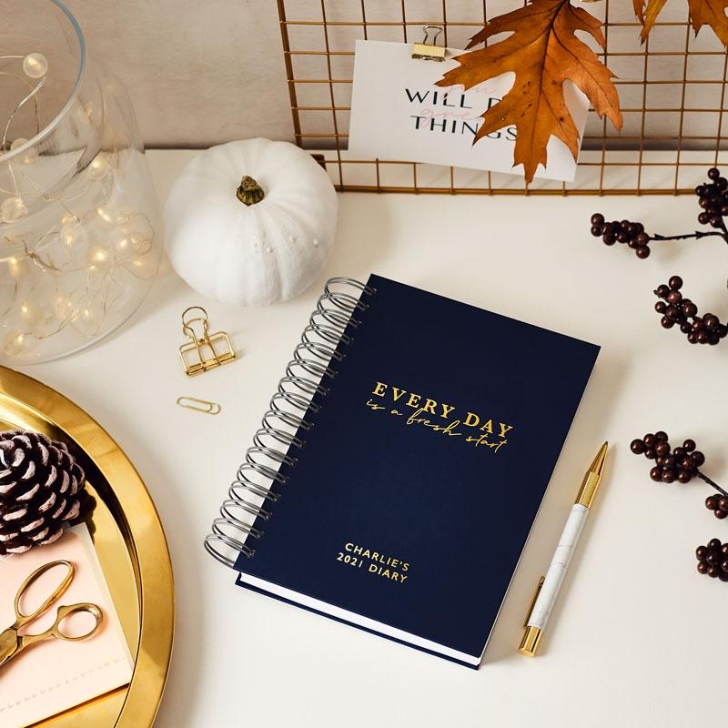 Fresh Start 2020 Daily Diary
