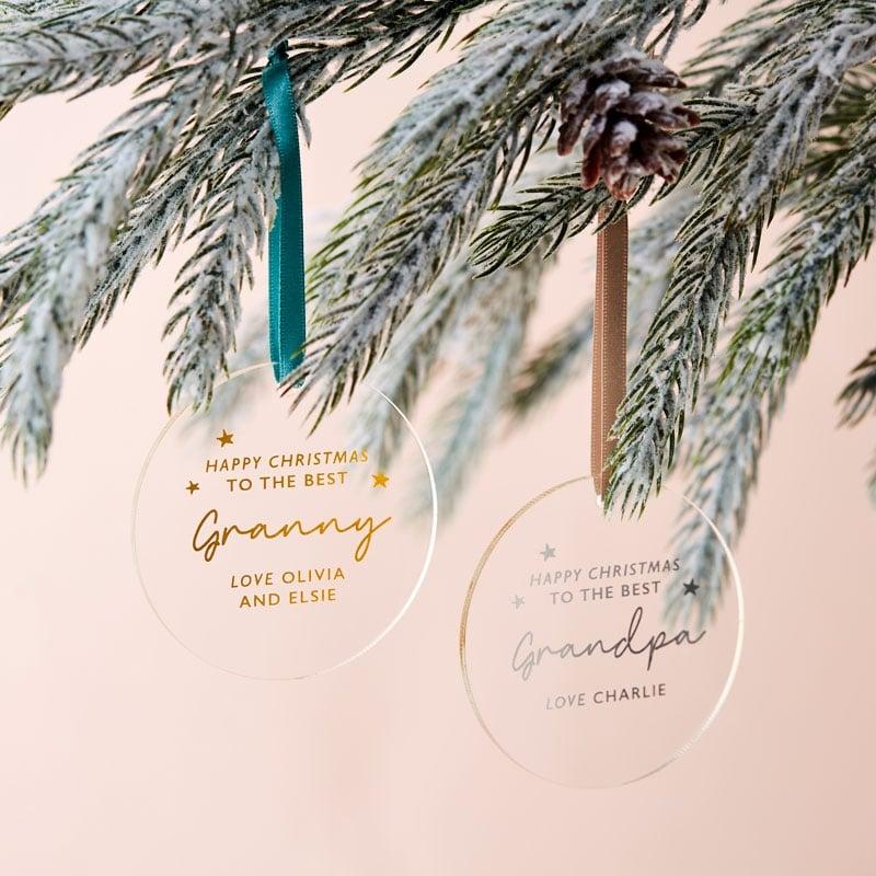Grandparent's Christmas Decoration