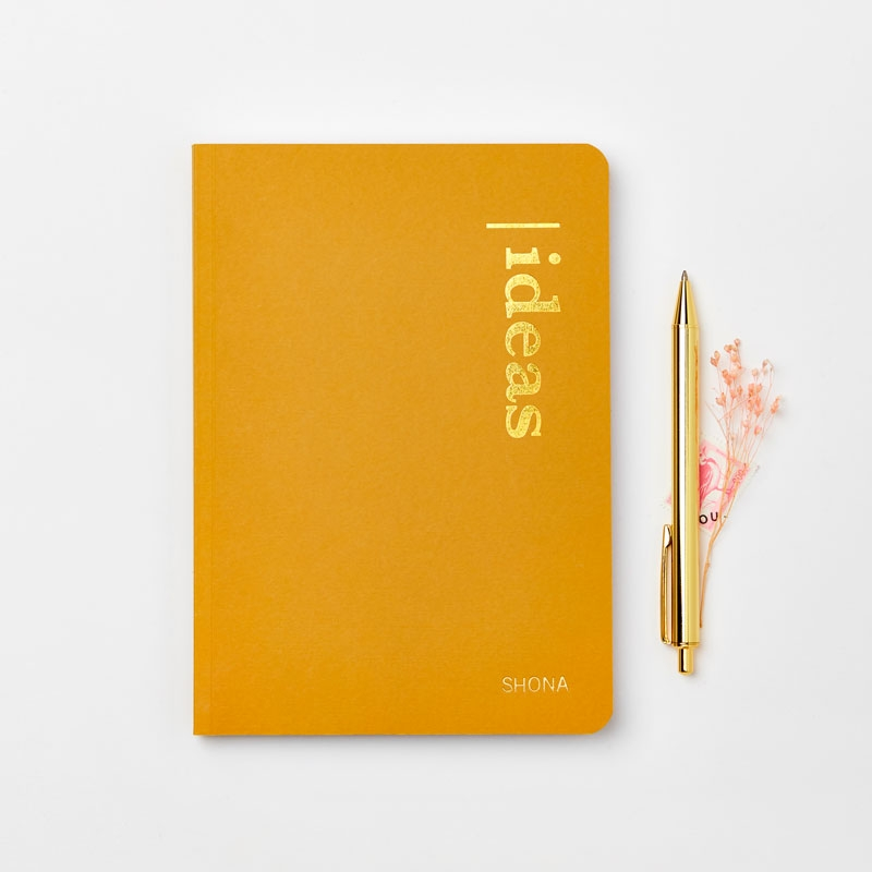 Personalised Ideas Recycled Coffee Cup Notebook