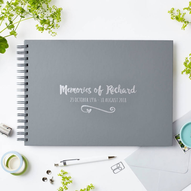 'Memories Of Condolence Book