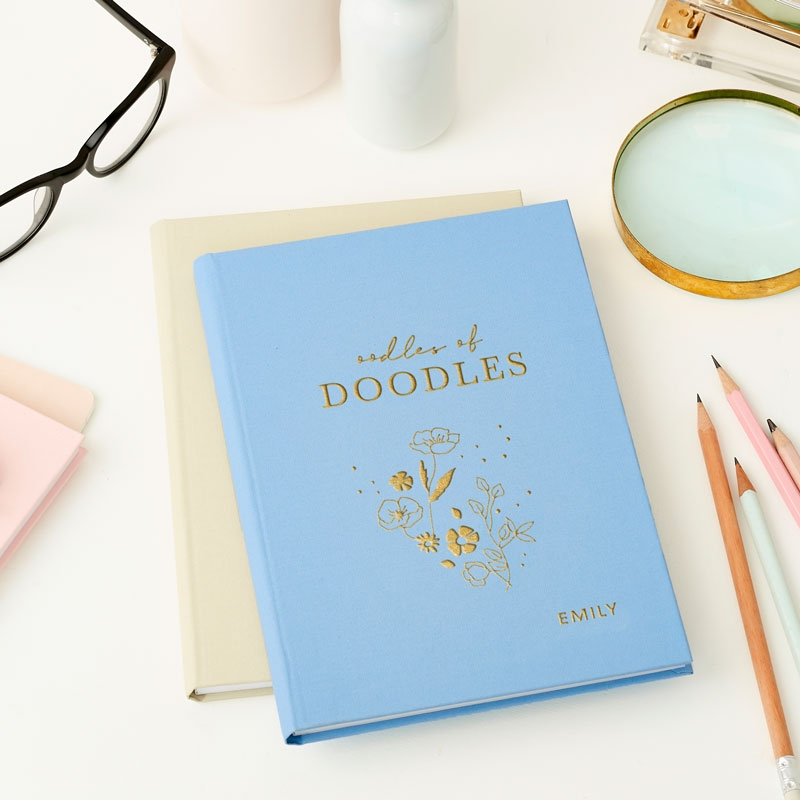 Oodles of Doodles Hardback Notebook