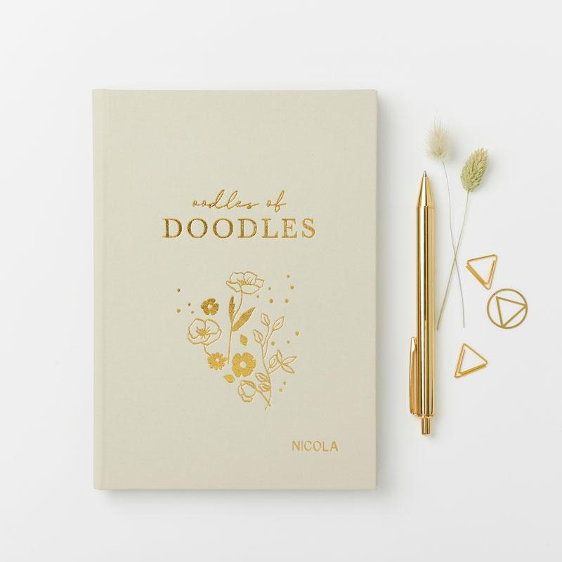 Oodles of Doodles Hardback Notebook