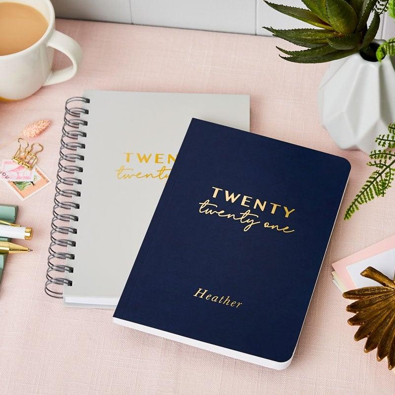 Personalised Twenty Twenty One 2021 Weekly Diary