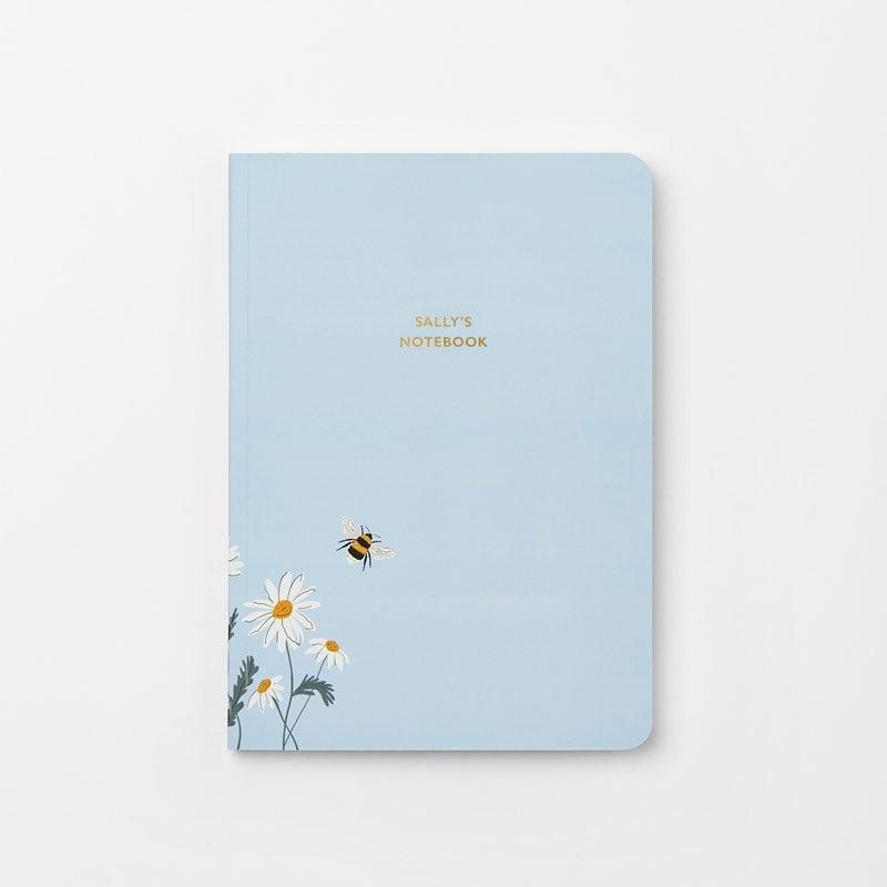 Personalised Wild Daisy Stationery Gift Set