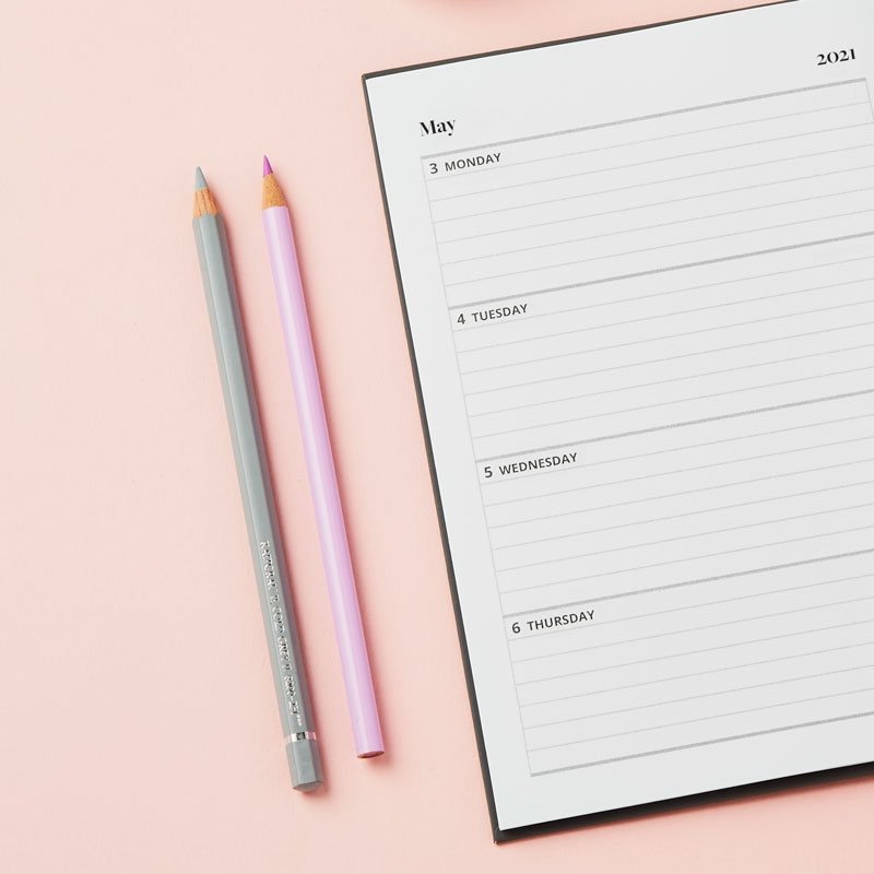 Personalised Traditional 2021 Weekly Diary