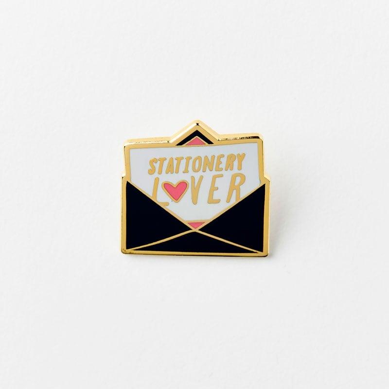 Stationery Lover Enamel Pin