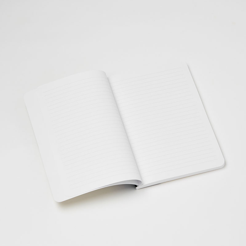 Personalised Wild Daisy Softback Notebook