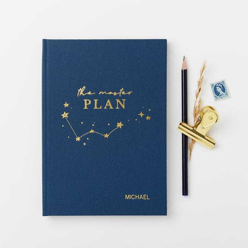 The Master Plan Hardback Notebook
