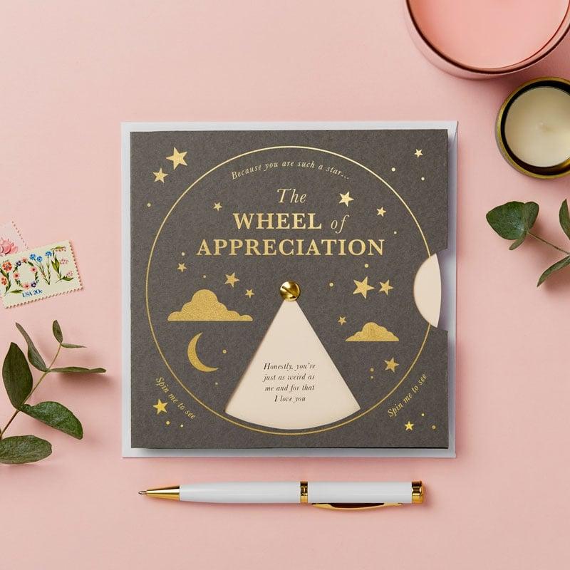 The Appreciation Reveal Wheel