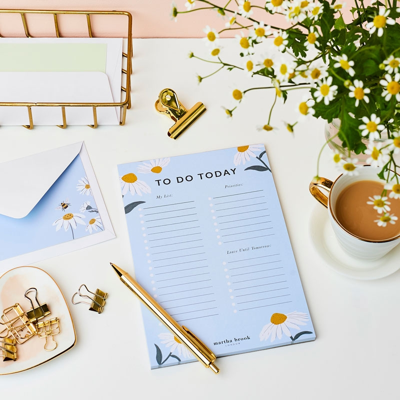 Wild Daisy Daily Planner Pad