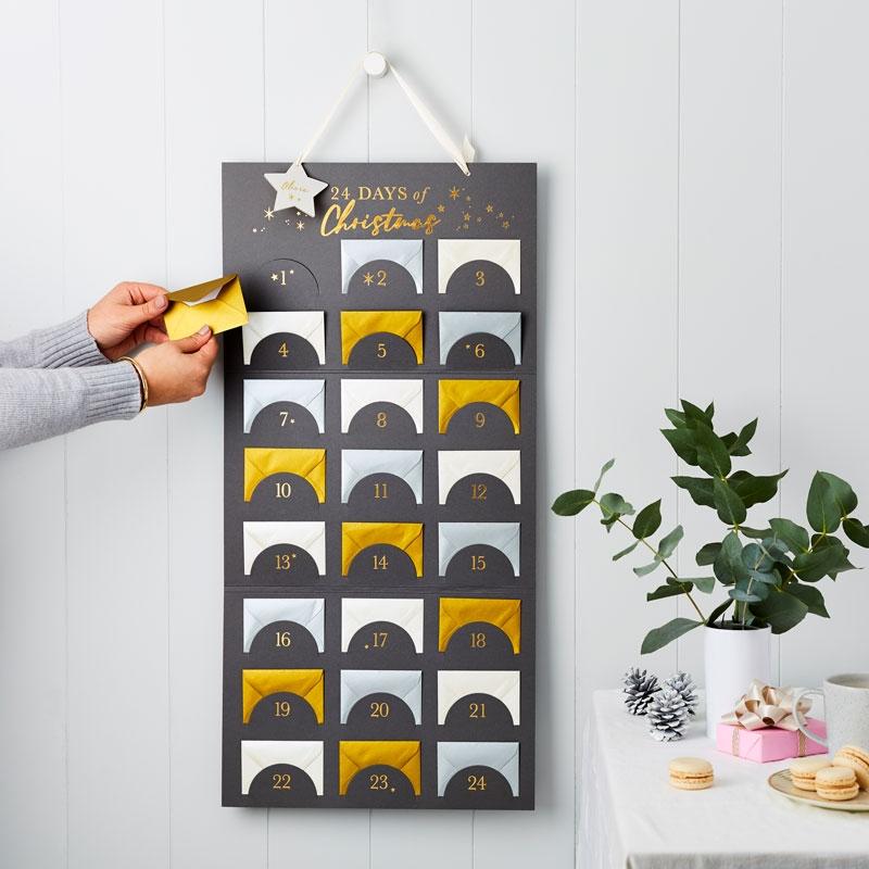 Chart Of Advent Surprises