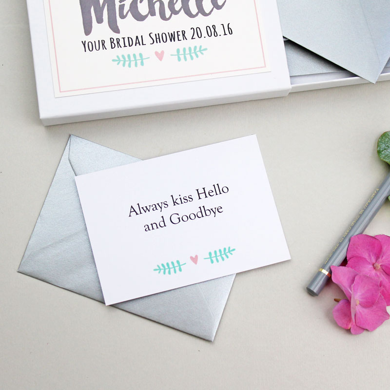 Messages for the Bride Gift Box