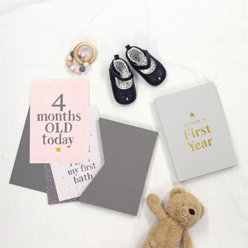 Baby Milestone and Memory Cards