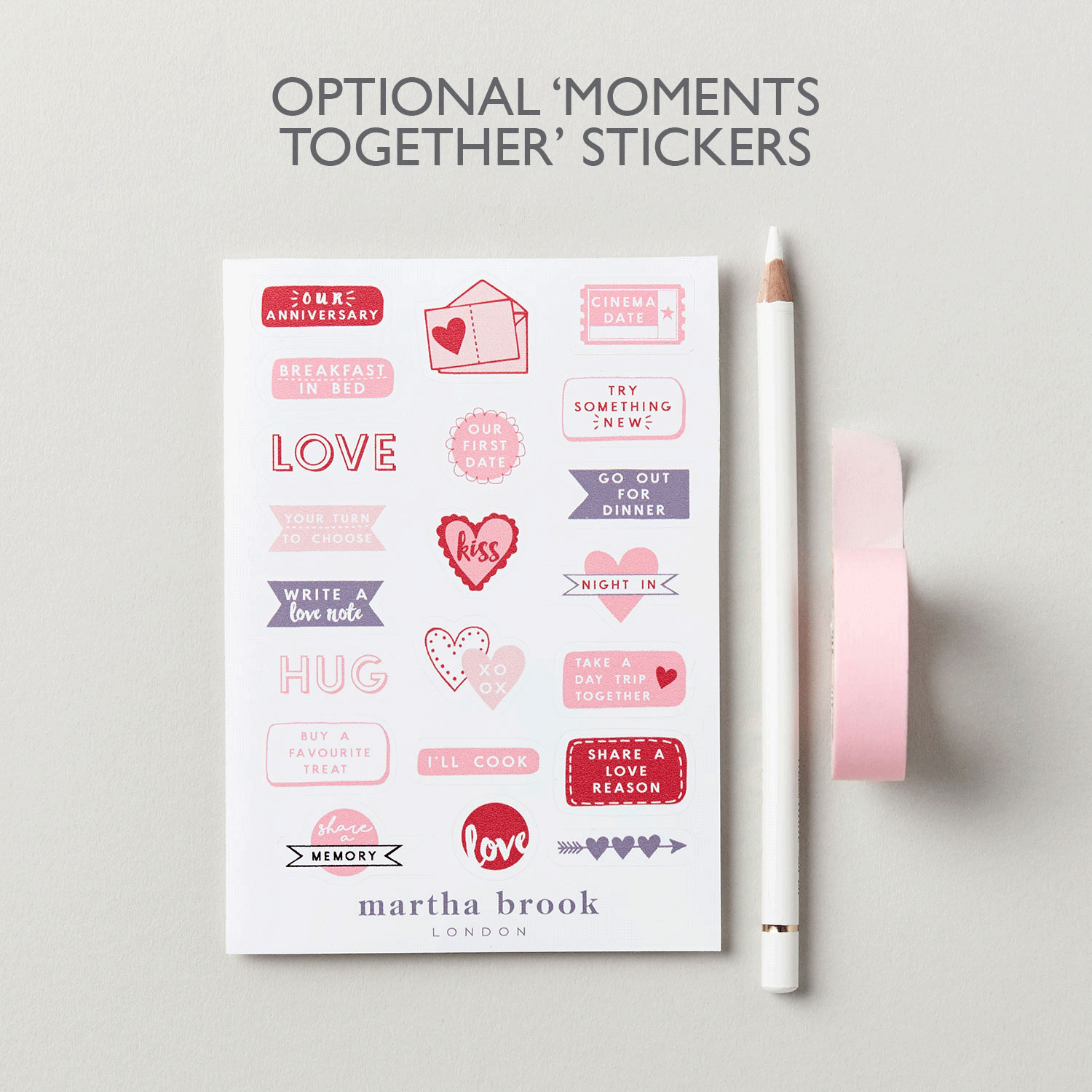 Moments Together Stickers