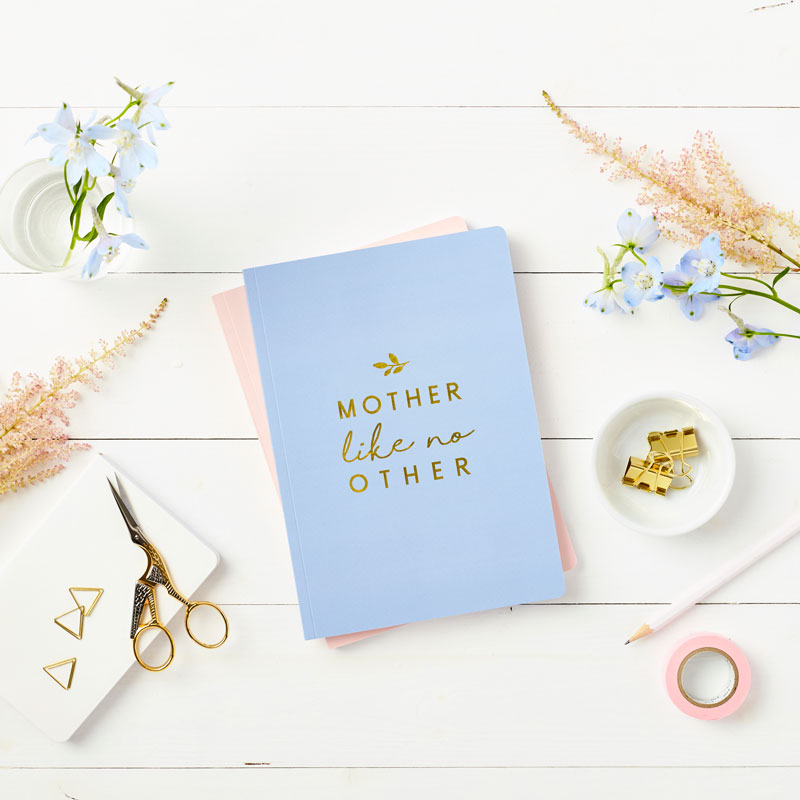 Mother Foiled Notebook