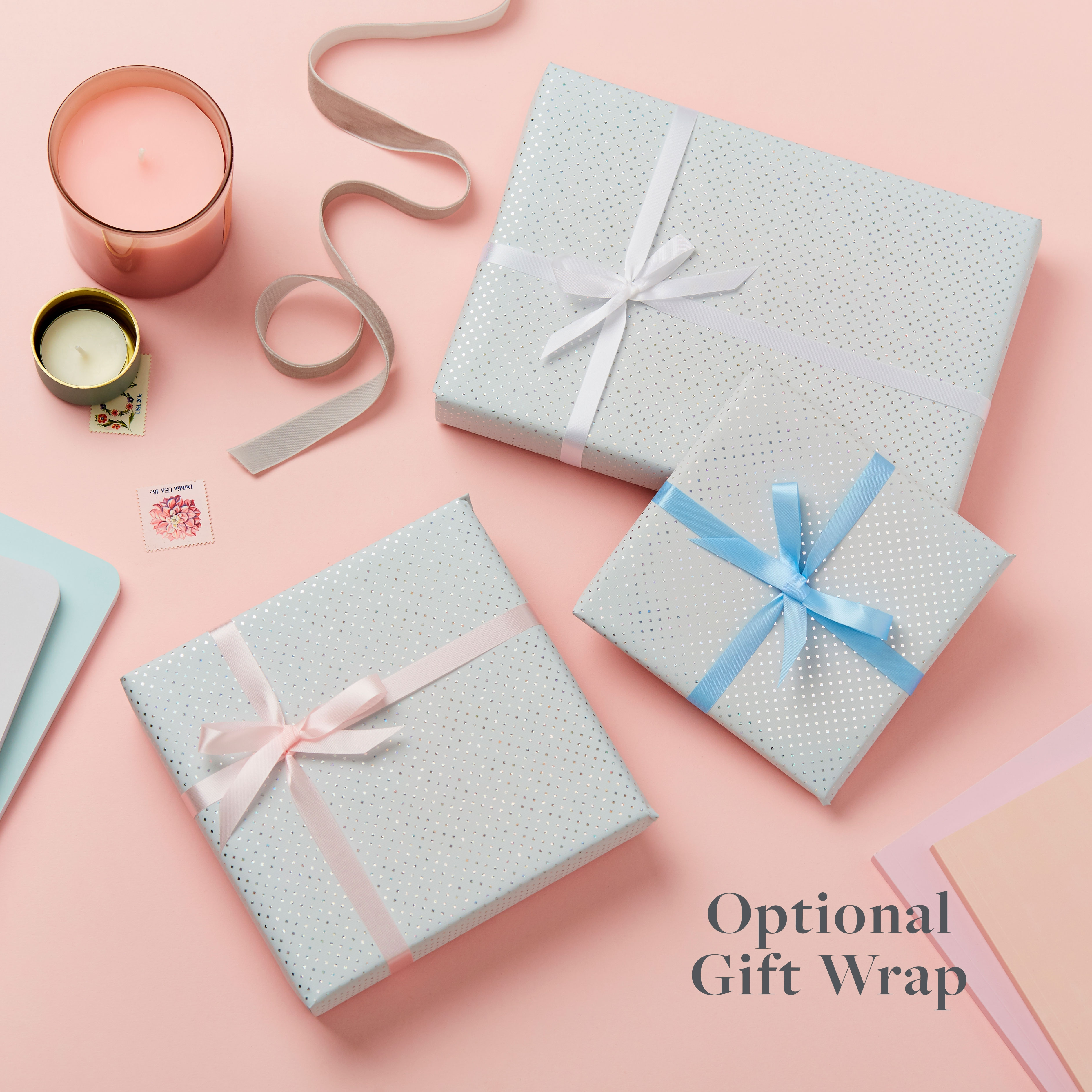 Optional gift wrap