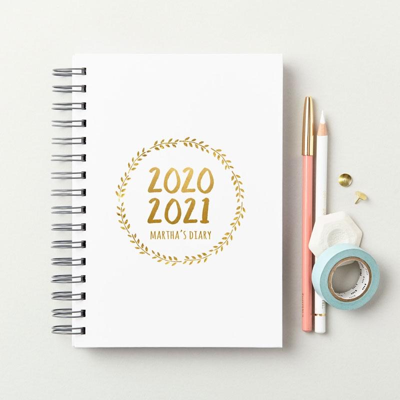 Decorative 2020-2021 Mid-Year Diary
