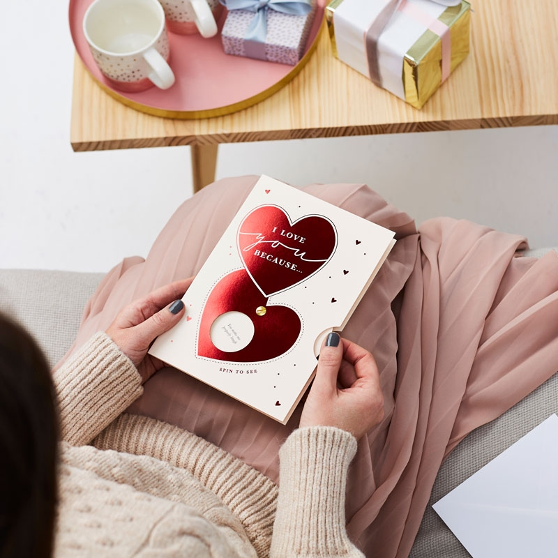 'I Love You Because' Reveal Messages Card