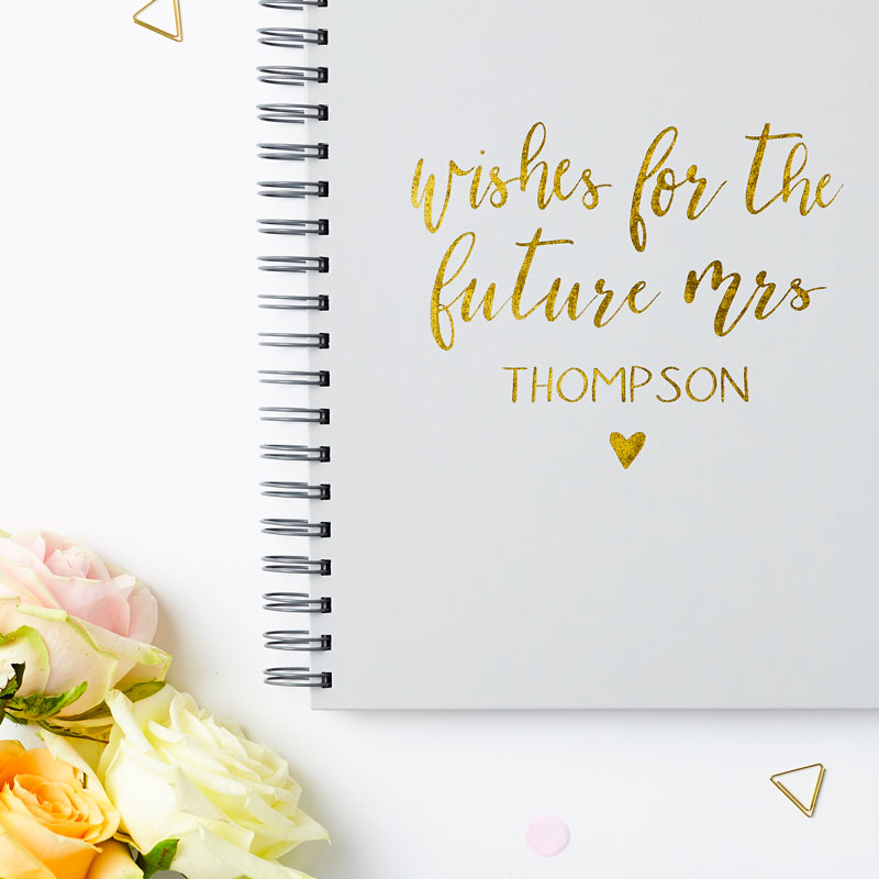 'Wishes For The Future Mrs' Book