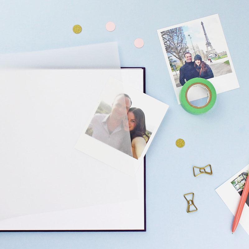 Inside of photo album
