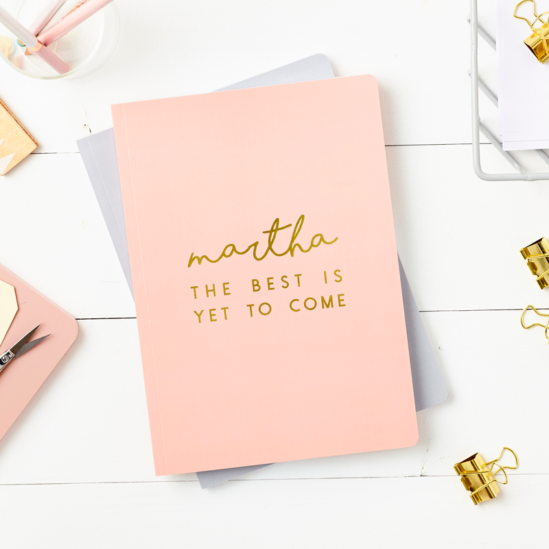 The Best Foiled Softback Notebook