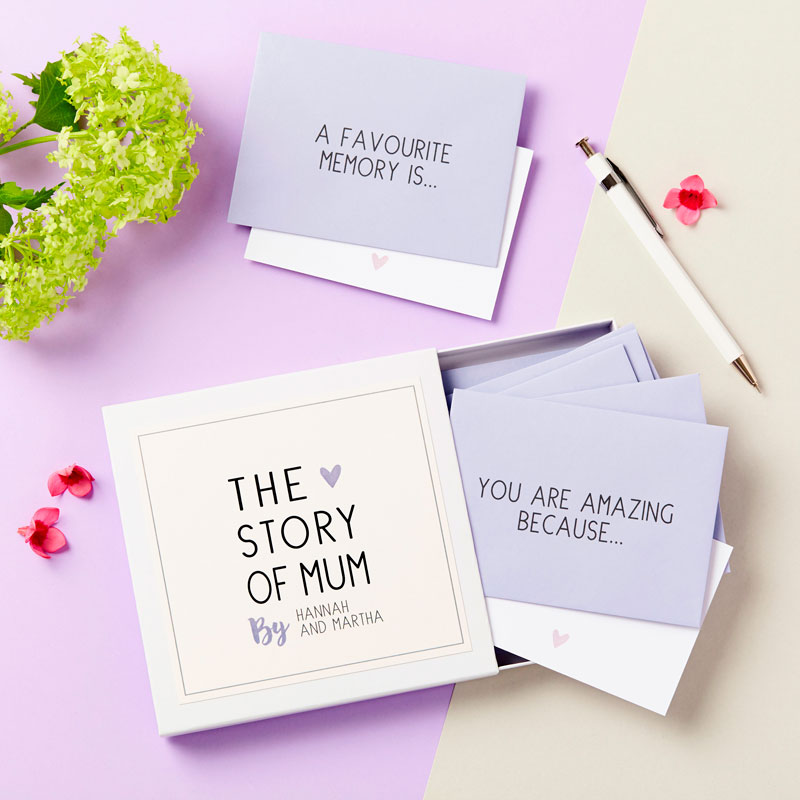'The Story of Mum' Messages Gift Box