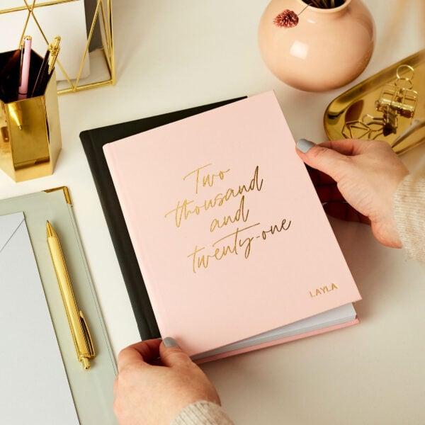Personalised Aspire 2021 Weekly Diary