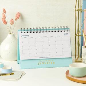 Stylish 2021 Desk Calendar
