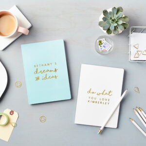 Personalised Notebooks - Made in Australia