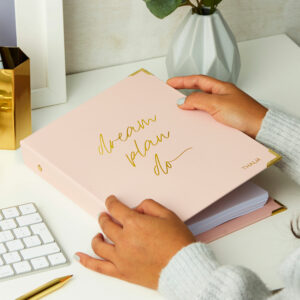 Martha Brook Personalised Dream Plan Do Life Planner