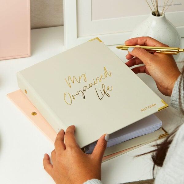 Martha Brook Personalised My Organised Life Planner Personal Organiser