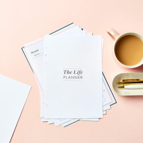 Martha Brook Undated Life Planner Refill
