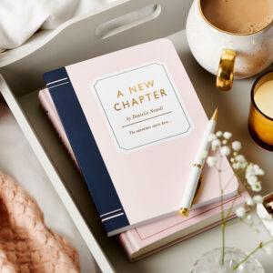 Personalised Book Style Novel Notebook