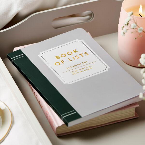 Martha Brook Personalised Book Style Novel Notebook Appearance Looks Like Book Classic Writer