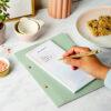 Martha Brook Essential Shopping List Pad Magnetic Home Fridge