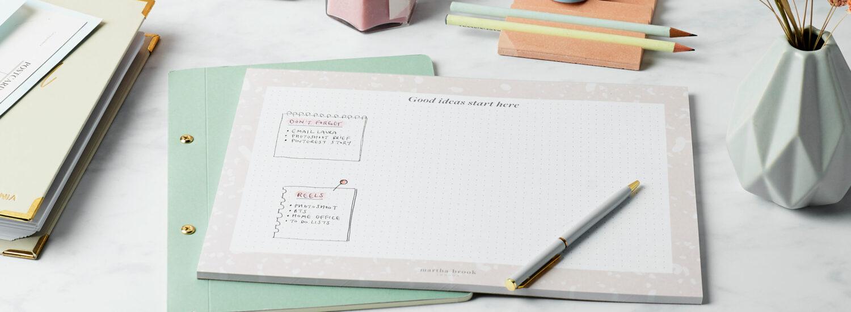 Five Dot Grid Planner Ideas