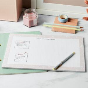 Martha Brook Good Ideas Dotted Desk Pad Bullet Dots