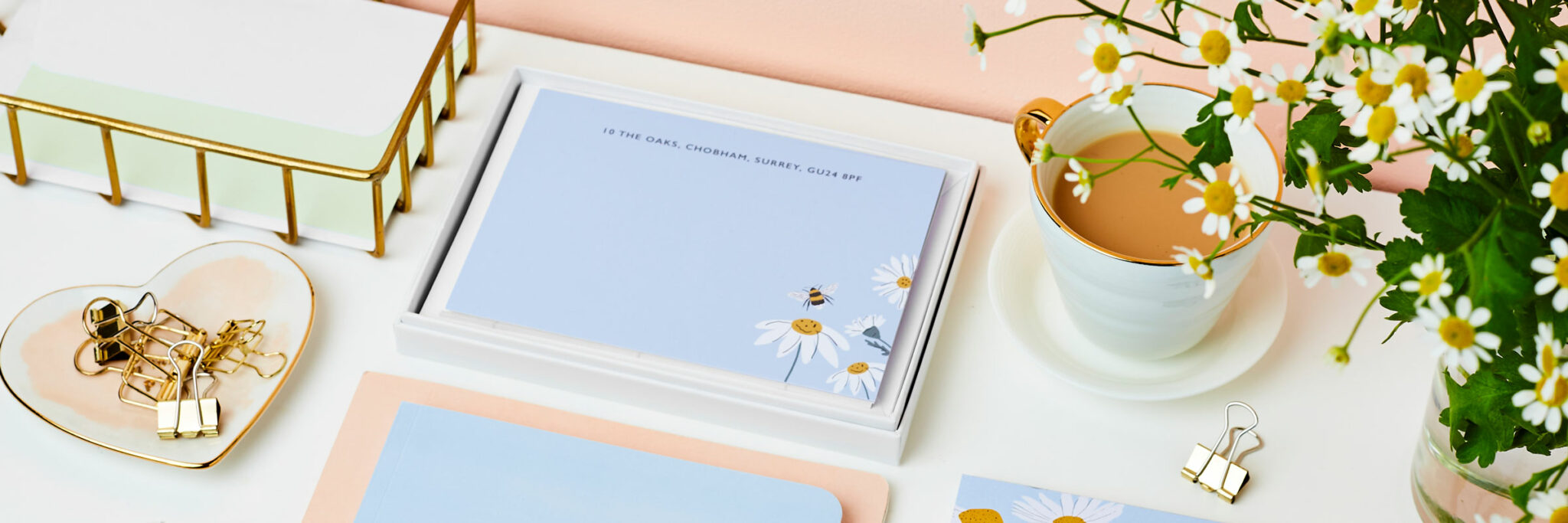 Martha Brook Personalised Stationery For Summer