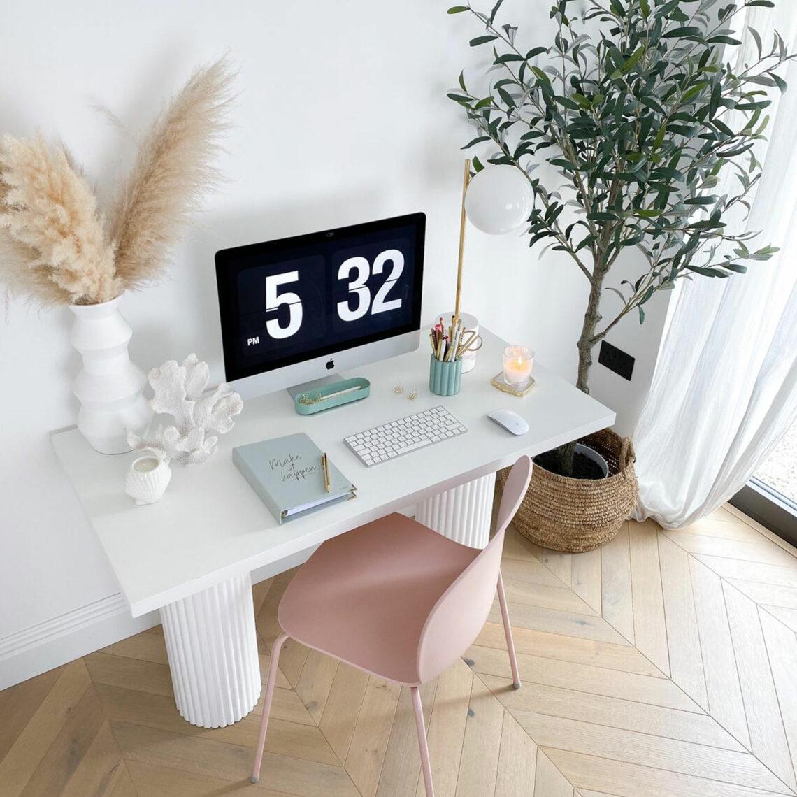 DIY Desk of Dreams Olivia from Lust Living