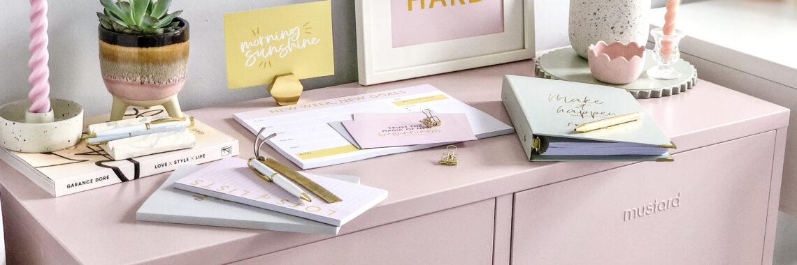martha brook x mustard made personalised stationery colourful locker competition