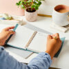 Martha Brook Personalised Vegan Leather Effect Notebook