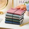 Martha Brook Personalised Vegan Leather Embossed Notebook