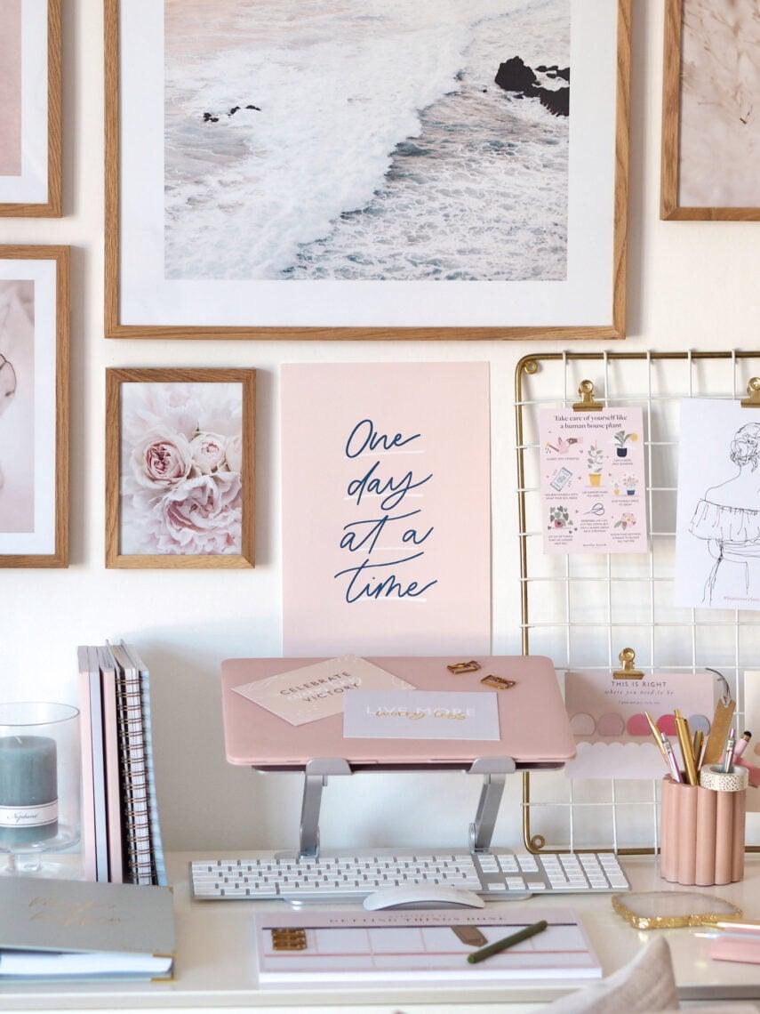 martha brook working from home desk goals