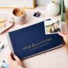 Personalised Couple's Story Photo Album