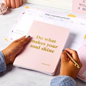 Personalised Self-Kindness Softback Notebook