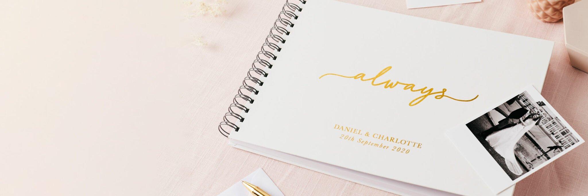 Martha Brook Personalised Wedding Photo Albums