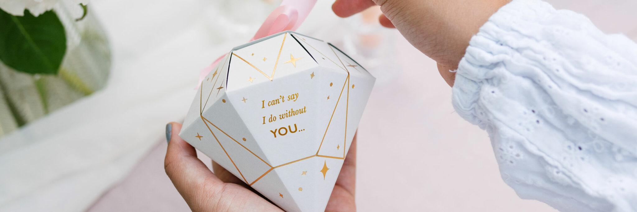 Martha brook weddings be my bridesmaid proposal gifts