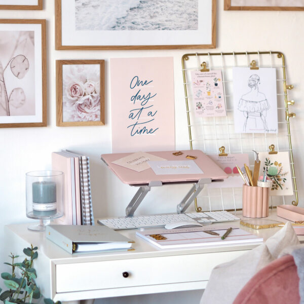 Martha brook p.s. on the blog working from home desk goals blog post