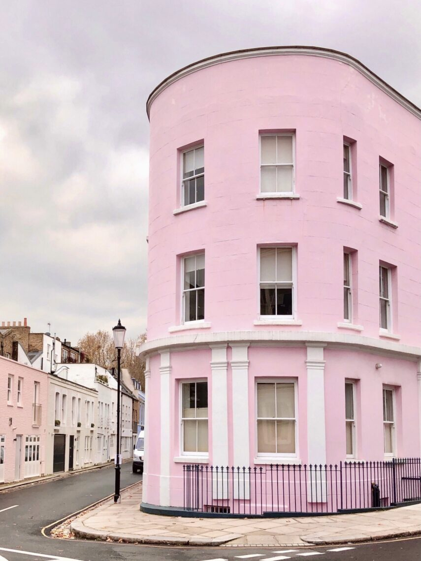 martha brook - pink places in london - Pottery lane