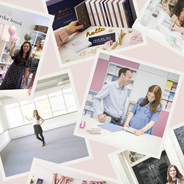 Martha Brook 8 years running a stationery business